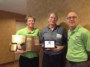Steve Yarish Receives Golden Gun Award
